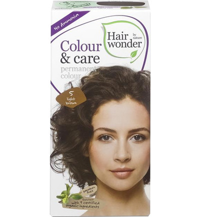 Colour and care 5 light brown