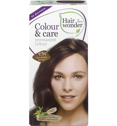 Colour & Care 5.35 chocolate brown