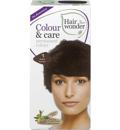 Colour and care 3 dark brown