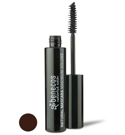 Mascara smooth bruin maximum volume