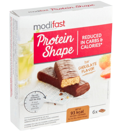 Protein shape bar chocolate