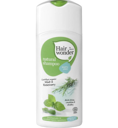 Natural shampoo every day