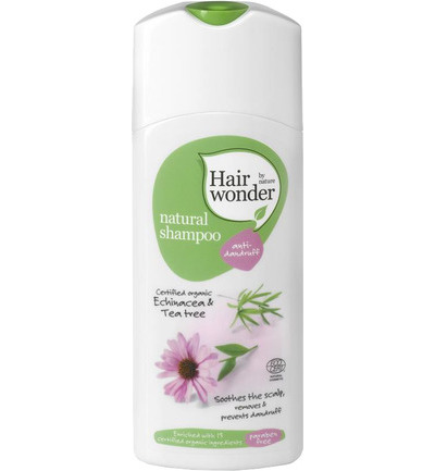 Natural shampoo anti-dandruff