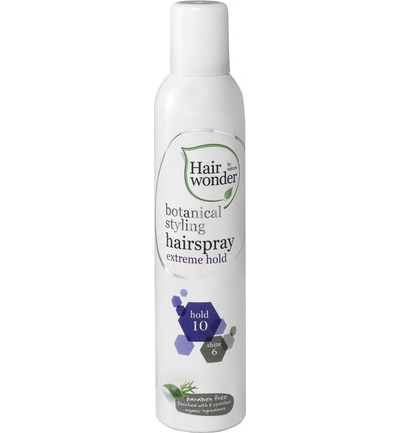Botanical styling hairspray extra hold
