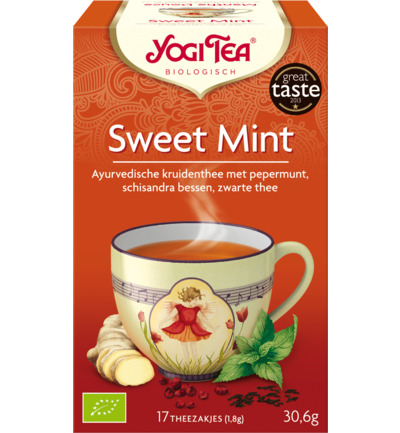 Sweet mint voorheen snack tea mint
