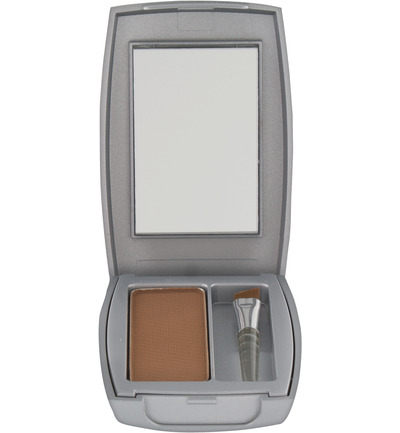 Eye care compactpoeder medium brown
