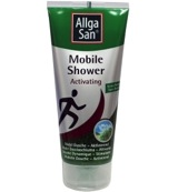 Mobile shower activating allgasan
