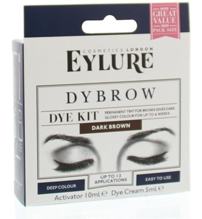 Dybrow complete kit brown