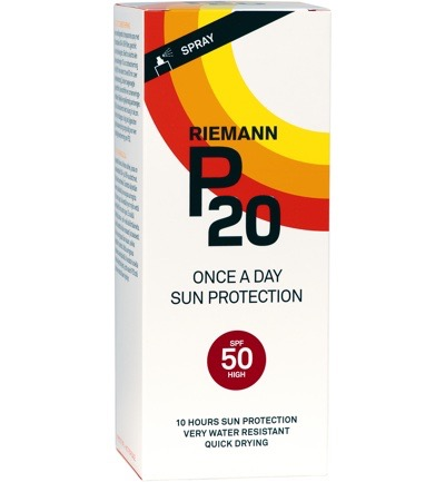 P20 Riemann Zonnebrand Factor(spf)50 Sprayflacon 200ml