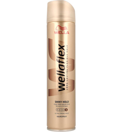 Flex hairspray shine ultra strong hold