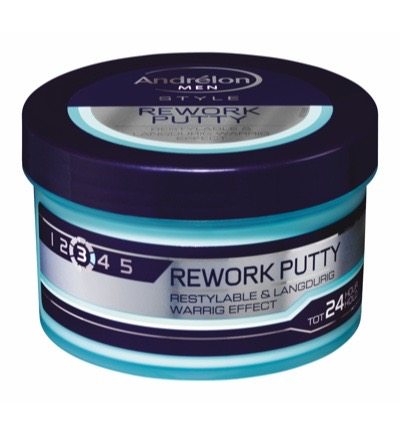 Rework fibre putty