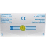 Lemon glycerine swabs