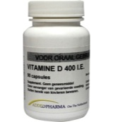 Afbeelding van Added Pharma Vitamine D 400ie Los (90ca)
