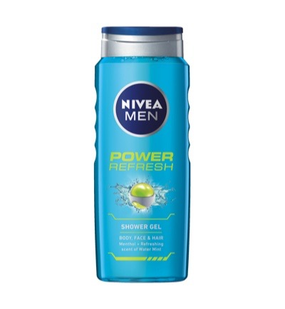 Men douche power refresh