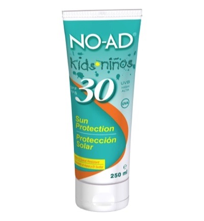 Sun tan lotion for kids SPF 30
