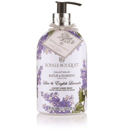Royale bouquet lilac english lavender handwash