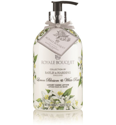 Afbeelding van Baylis&Harding Royale Bouquet Handlotion Lemonblossom & Whiterose 500ml
