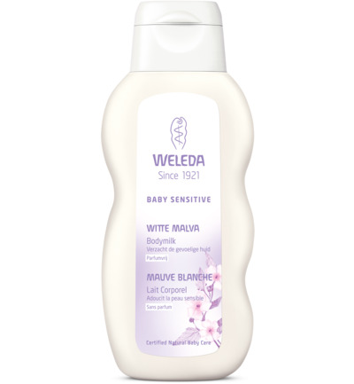 Baby witte malva sensitive bodymilk