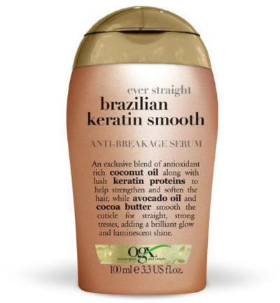 Brazilian keratin smooth anti-breakage serum