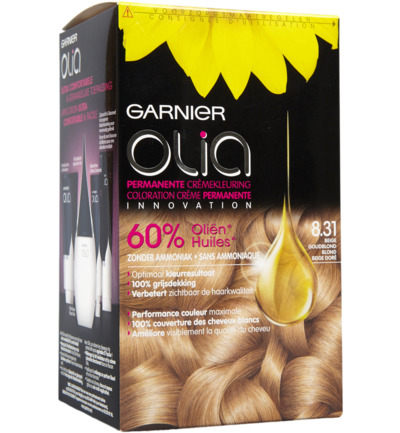 Olia 8.31 golden ashy blond