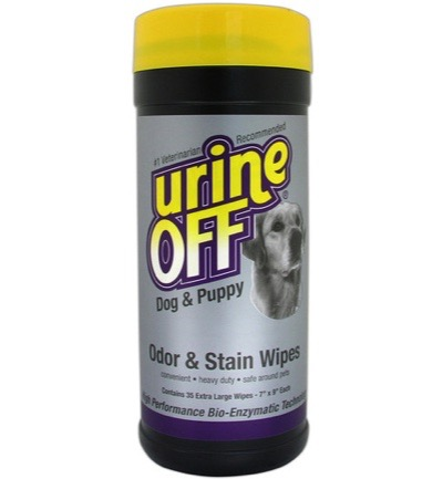 hond puppy wipe