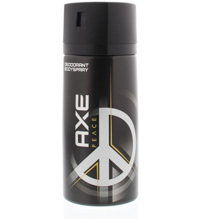 Deodorant bodyspray peace