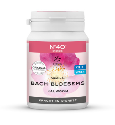 Bach bloesems kauwgom energie nr 40