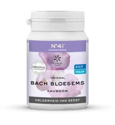 Bach bloesems kauwgom concentratie nr 41