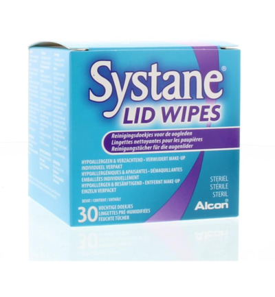 Lid wipes