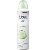 Doeodrant spray go fresh cucumber