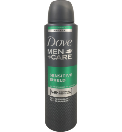 Deodorant spray men sensitive