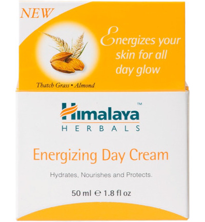 Herbals energizing day cream