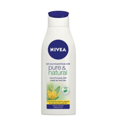Pure & natural body milk