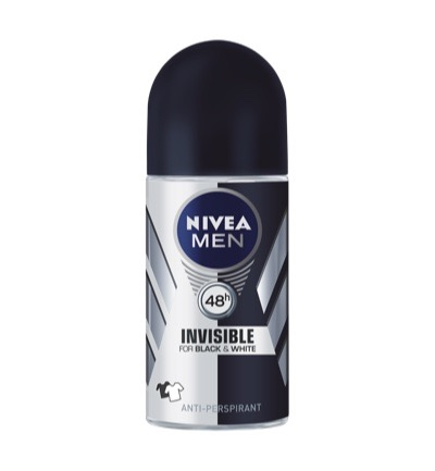 Men deodorant invisible black roller