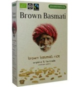 Brown basmati fairtrade