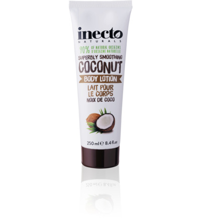 Coconut oil bodylotion