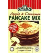 Apple & cinnamon pancake mix