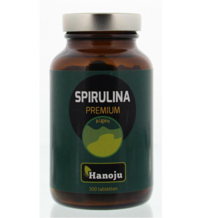 Spirulina 400 mg premium pet flacon
