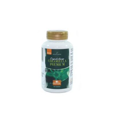 Chlorella premium 400mg pet flacon