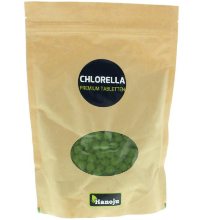 Chlorella premium 400mg paper bag