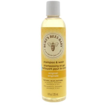Baby bee shampoo body wash