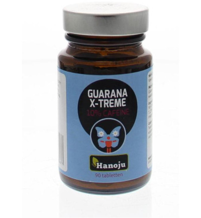 Guarana xtreme 20% coffeine 400 mg