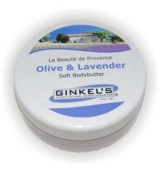 Body butter olive lavendel