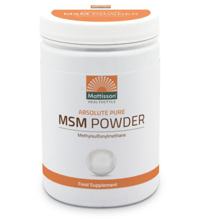 Mattisson Absolute Msm Poeder Pure 454g