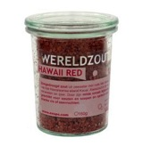 Wereldzout Hawaii Red glas