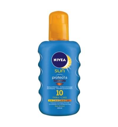 Sun spray protect bronze SPF 10