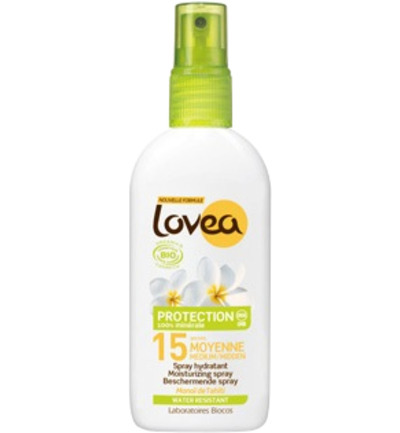 Lovea Bio Sun Spray Factor(spf)15 125ml