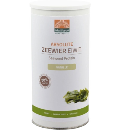 Absolute zeewier eiwit supershake