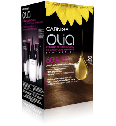 Olia 5.3 golden brown