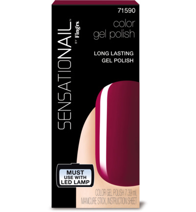 Color gel sugar plum